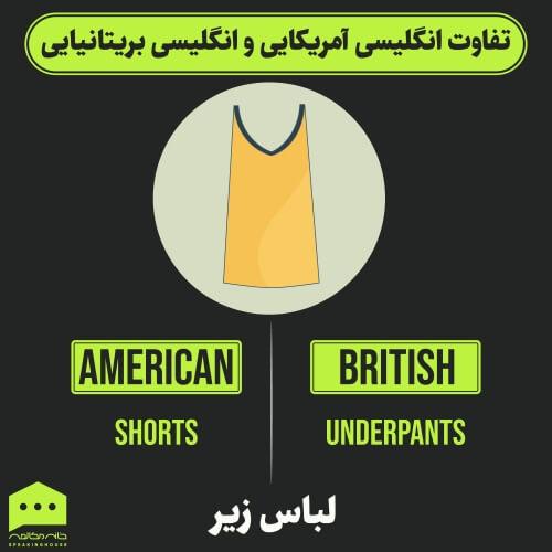 جملات انگلیسی - تفاوت انگلیسی آمریکایی و بریتانیایی