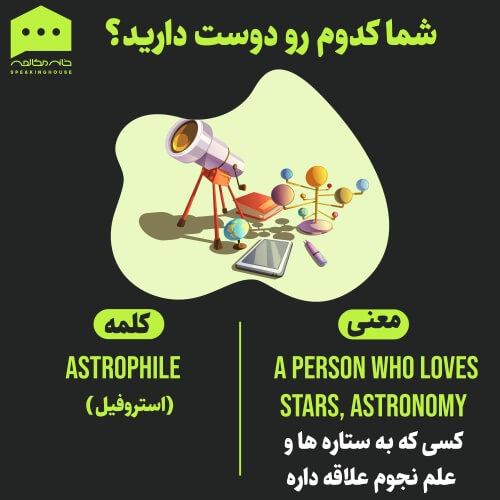 لغات انگلیسی - روانشناسی 1