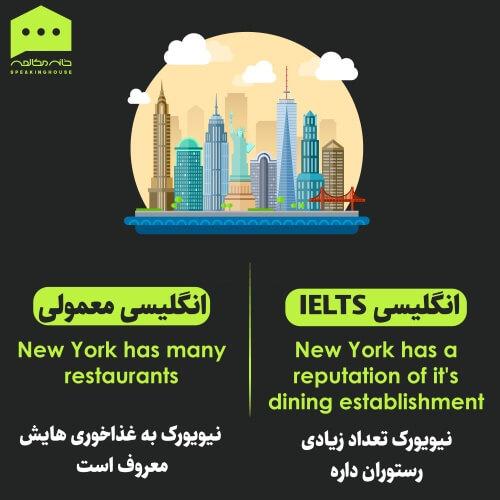 جملات انگلیسی - انگلیسی IELTS