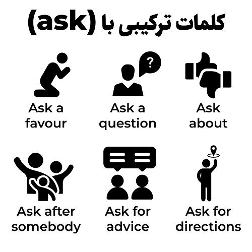 کلمات ترکیبی با ask