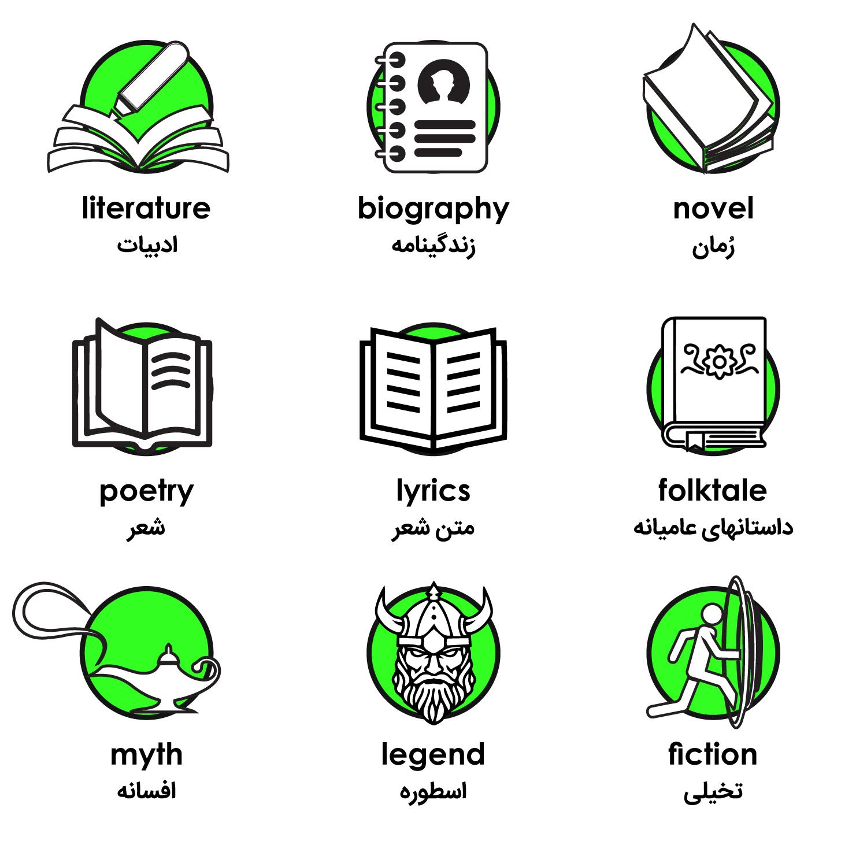 ادبیات به انگلیسی
