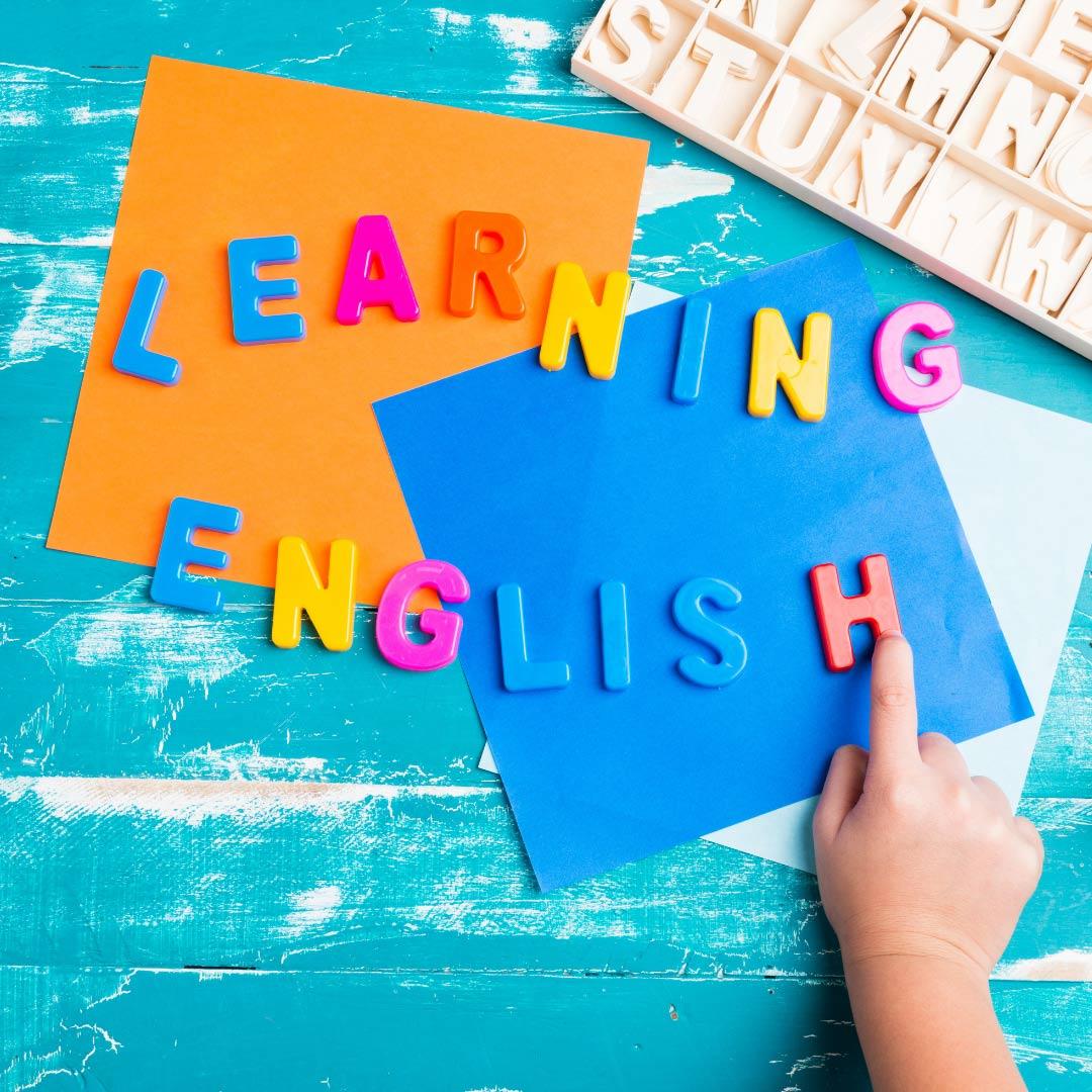 استفاده از رنگ و تصویر برای یادگیری زبان انگلیسی