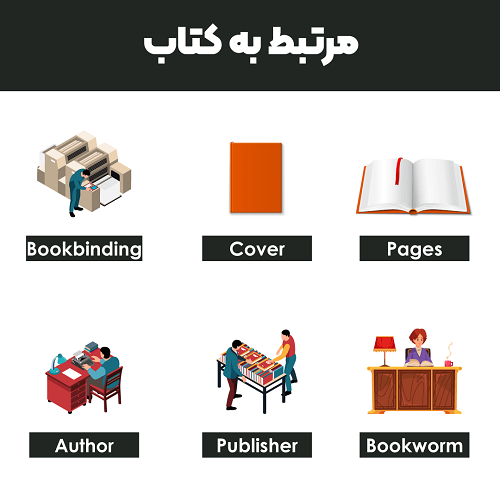 مرتبط به کتاب به انگلیسی