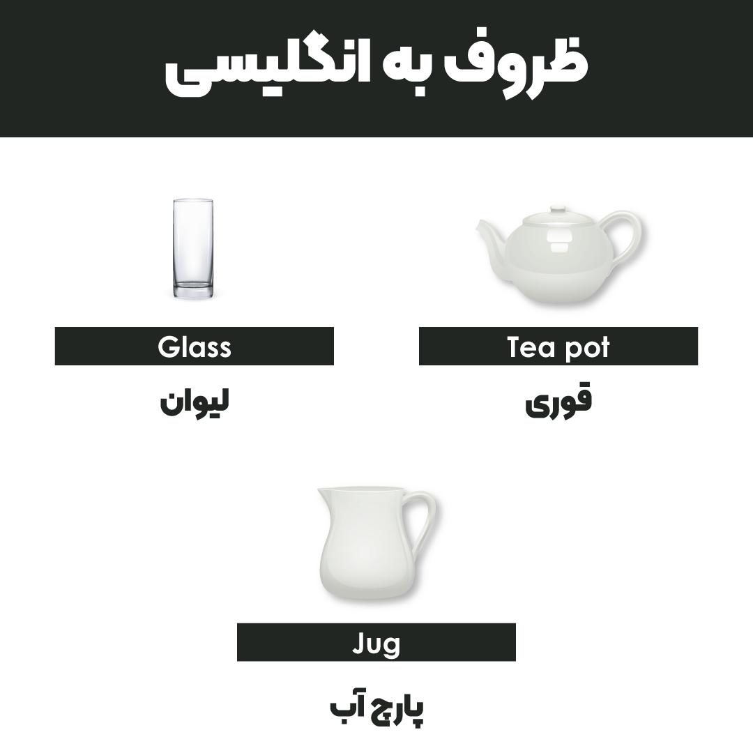 ظروف به انگلیسی
